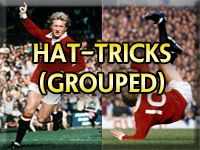 Newton Heath &Manchester United Hat Tricks (Grouped)