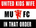 United - Kids - Wife.......in that order